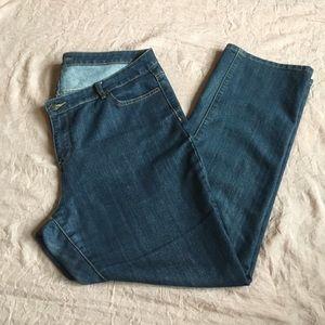Michael Kors straight leg denim jeans size 16 16W
